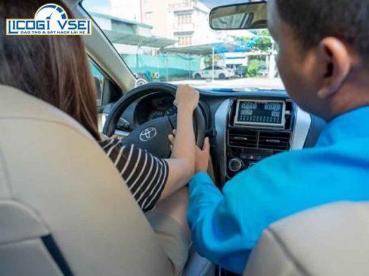 hướng dẫn thực hành lái xe